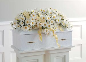 Infant casket adornment