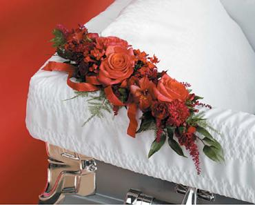 Corner Casket Adornment.