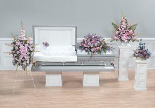 Funeral Combo, 5 piece, Mixed Flower Field