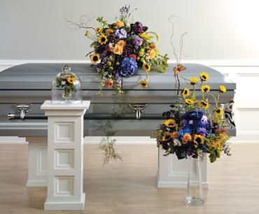 "Funeral Combo, ""A happy Life and Forever More. \"""