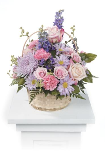 Pastel Purple and Pinks, Basket